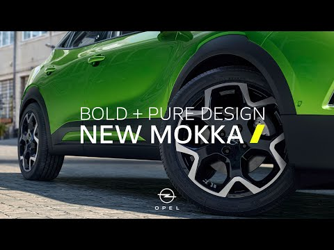Bold and pure. The new Opel Mokka.