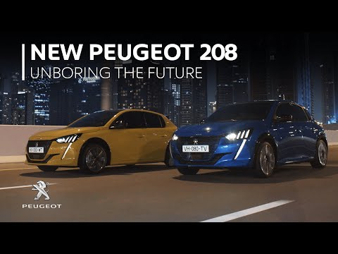 NEW PEUGEOT 208 –CAR OF THE FUTURE