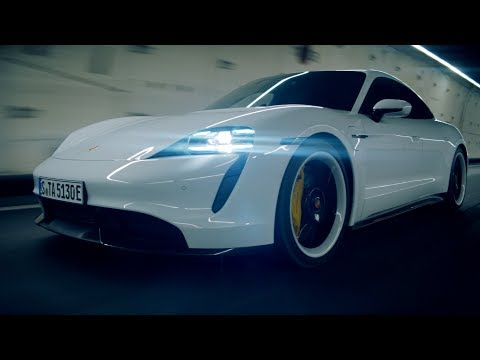 The Highlights of the new Porsche Taycan