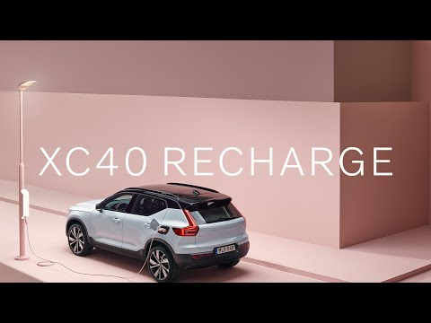 The XC40 Recharge - Our first pure electric SUV